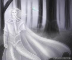 Lu`corian's Ghost Guides Salazar