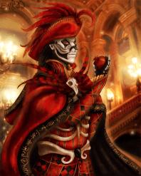 Red Death Masquerade Costume