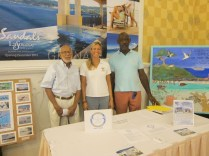 Mr. Basil Minns, Ms. Catherine Booker, and Mr. Kenneth Nixon of the EHCP.