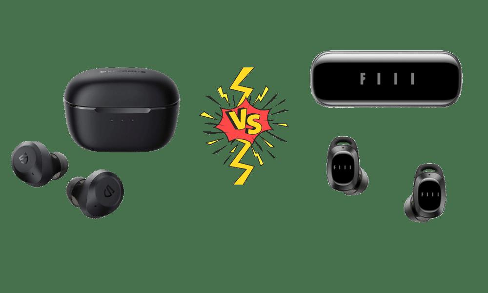 Soundpeats T2 vs FIIL T1 Pro