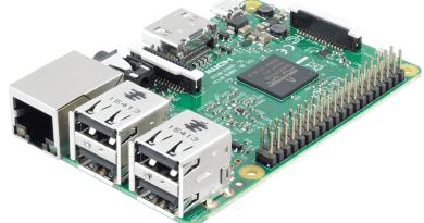 Raspberry moederbord sensoren