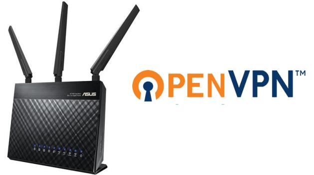 Asus OpenVPN client en server