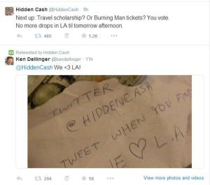Hidden Cash Next up Travel scholarship Or Burning Man tickets