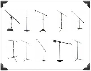 mic stand options