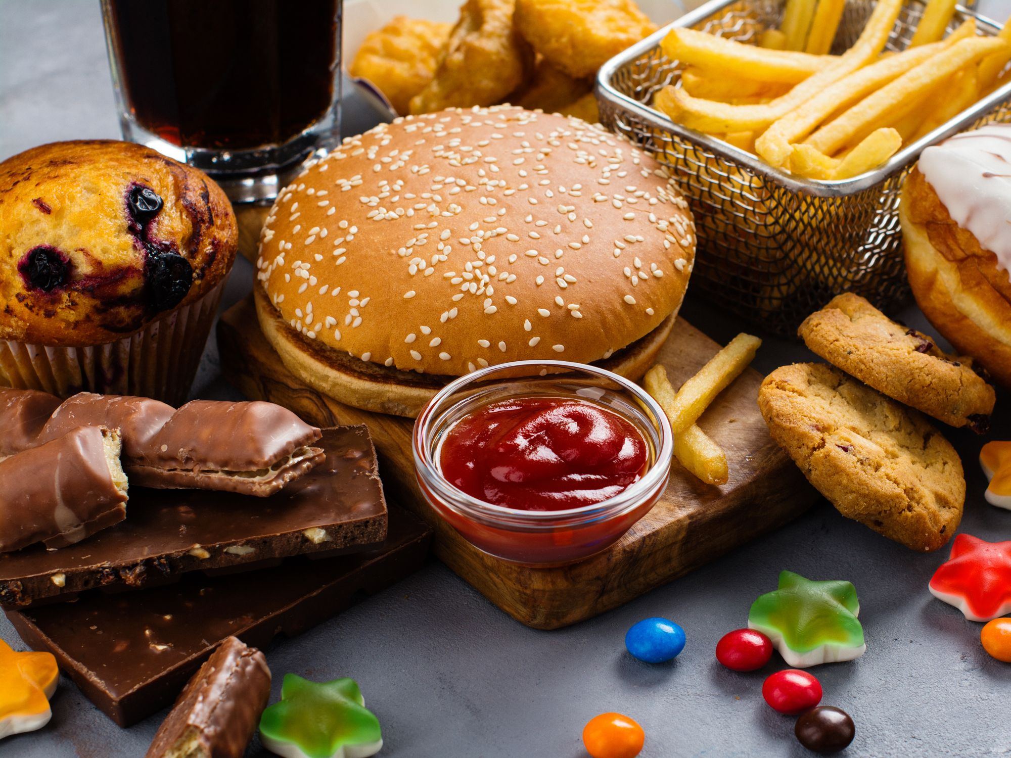 34 Chronic Diseases Fueled By Junk Food