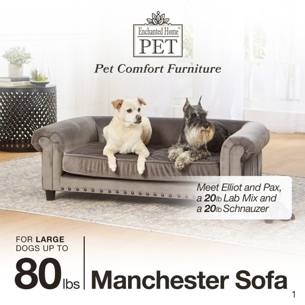 Manchester Velvet Tufted Sofa