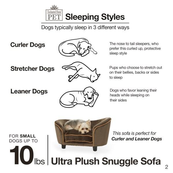 Ultra Plush Snuggle Sofa