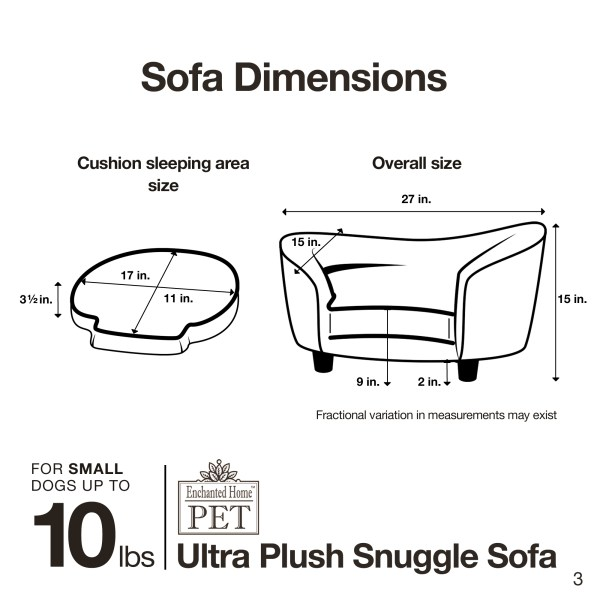 Ultra Plush Snuggle Sofa