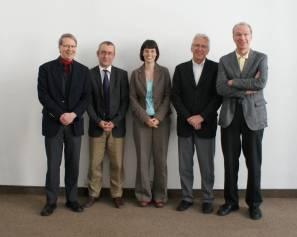 Professorales Gruppenfoto