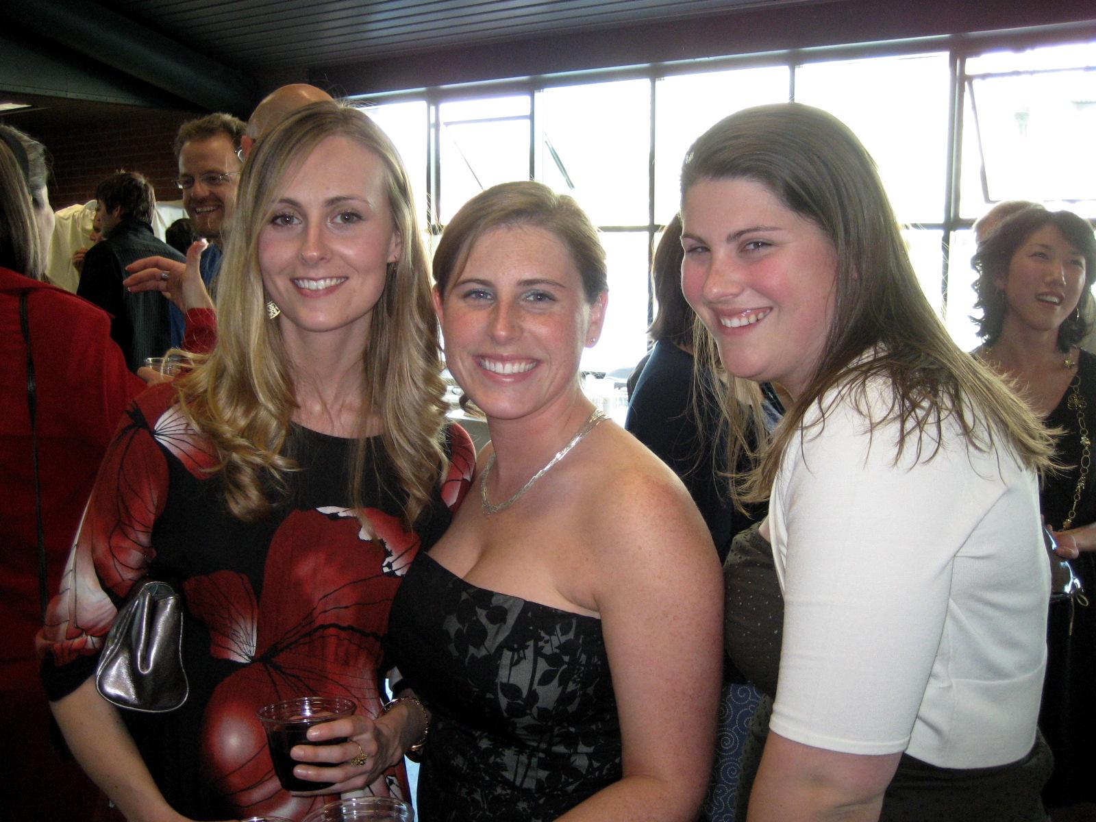 Mary, Melissa and Brooke