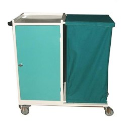 Laundry Trolley ( Clean- Dirty)