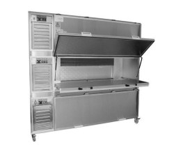 Mortuary Refrigerator - Three Body Side loading