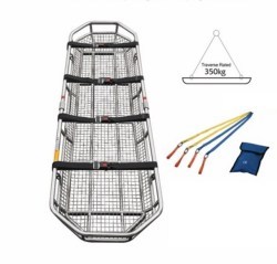 Separable Stainless Steel Emergency Rescue Basket Stretcher