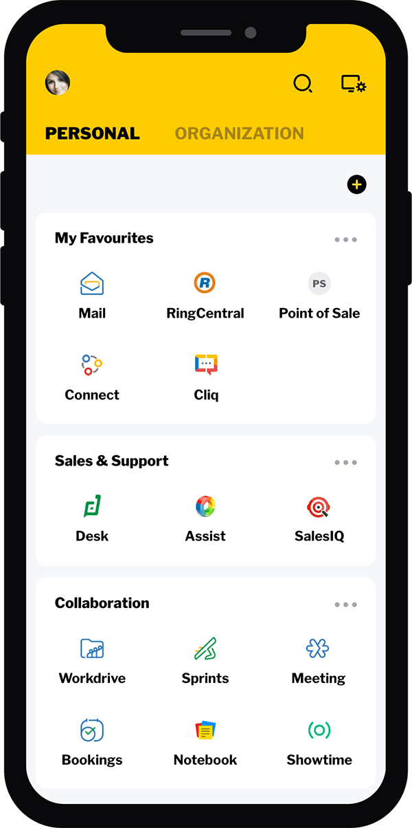 Zoho app All in one for digital marketing