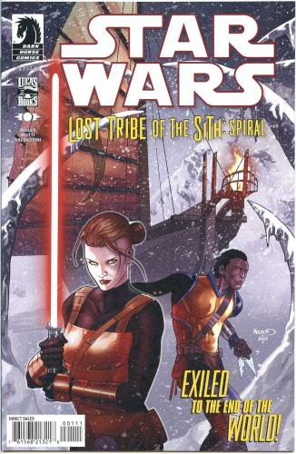Star Wars Lost Tribe of the Sith Spiral #1 NM $6