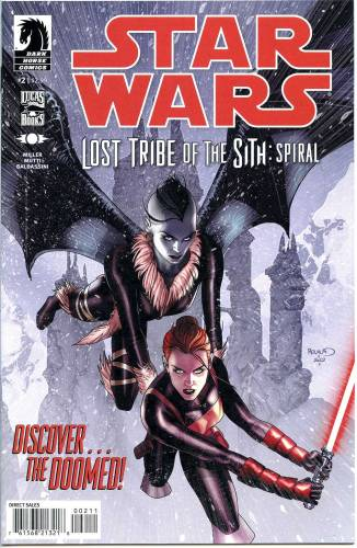 Star Wars Lost Tribe of the Sith Spiral #2 NM $5