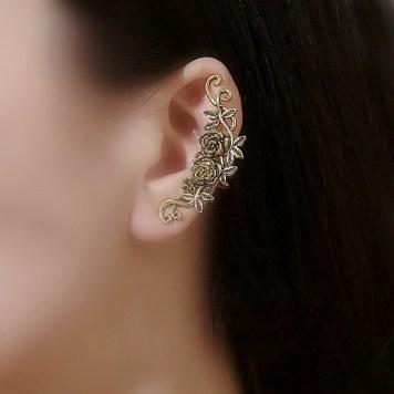 Roosidega earcuff kõrvaehe