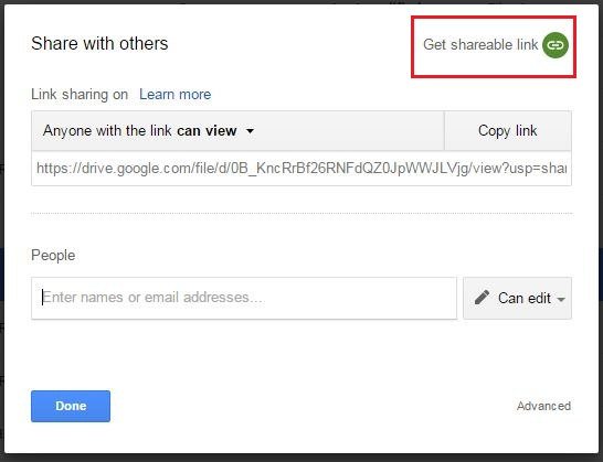 How To Make A Public Link On Google Drive How can I make my