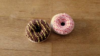 Hæklet donuts