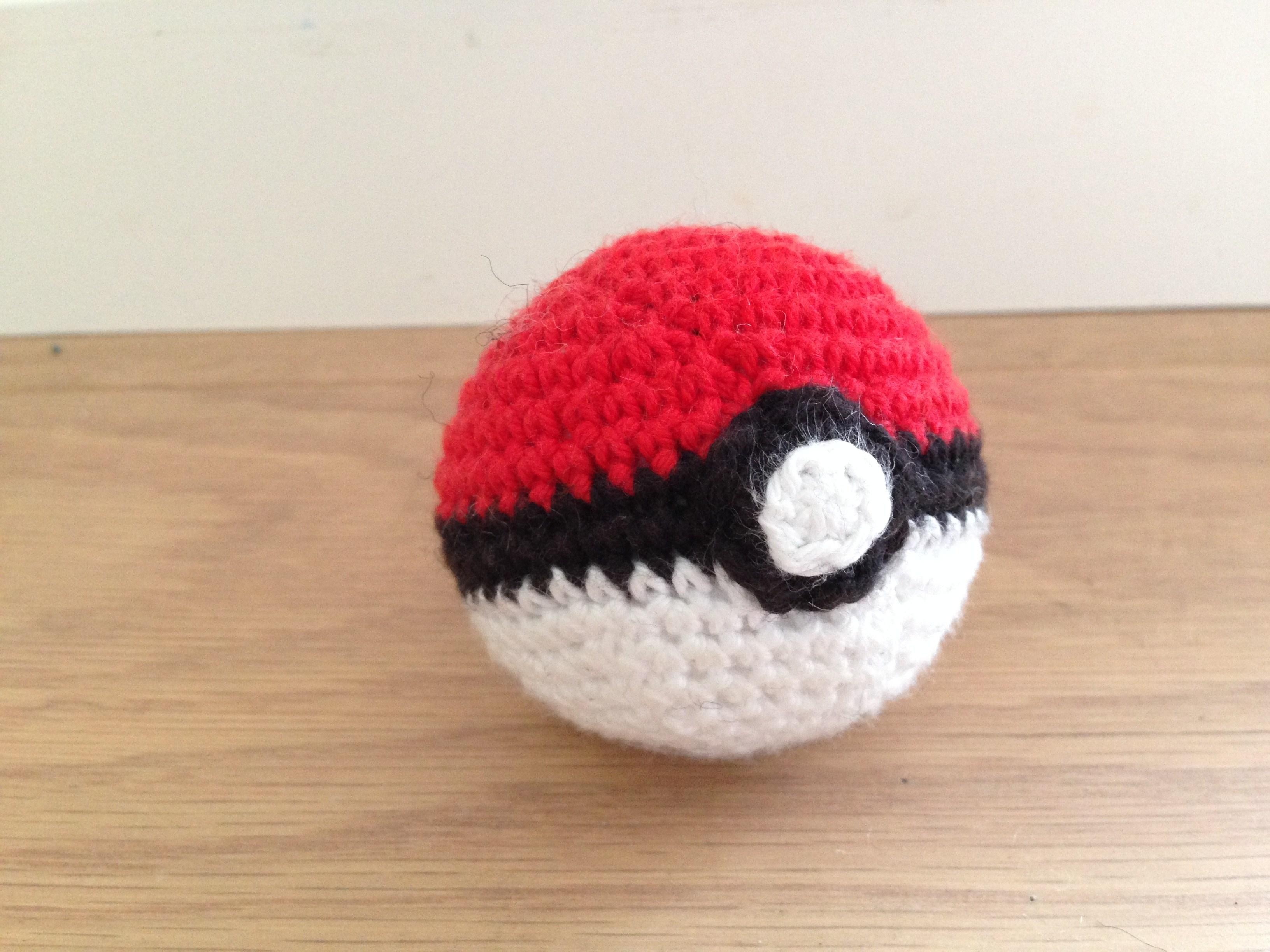 Hæklet pokeball (Pokemon)