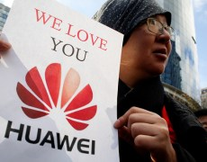 Pentagon drops its opposition to new restrictions on U.S. dealings with China's Huawei