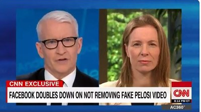 MW HK355 cooper 20190525180215 ZT - Facebook executive defends company's approach to doctored Pelosi video: 'We have acted'