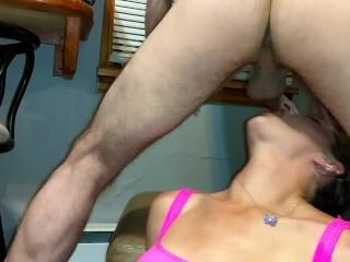 SexxyCandyxxx Slimey ass to mouth 2
