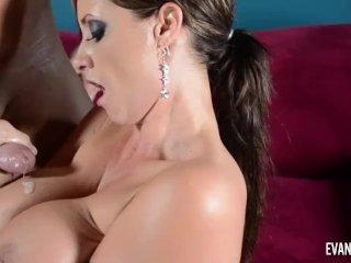 Eva Notty sucking and Fucking Christian