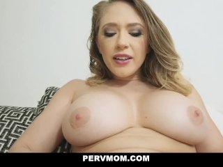 PervMom – Horny Stepmom Sucks My Cock