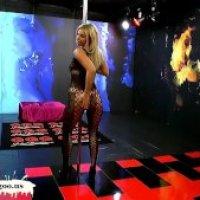 Bello blondie Nathaly Cherie ottenere il suo sperma bel viso coperto - GGG