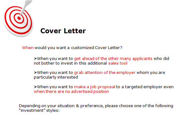 Sample NLP Cover Letter - The PD Cafe