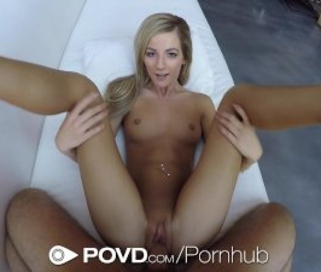Povd Lean Blonde Bella Rose Grinds On Thick Cock