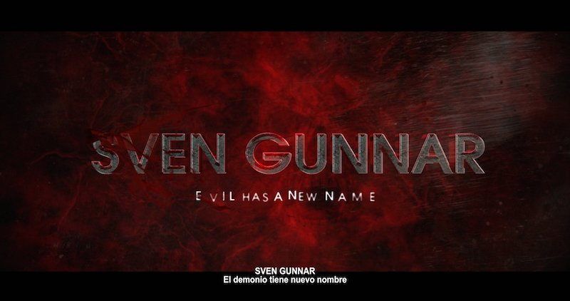 SVEN GUNNAR Teaser Trailer is live