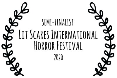 Lit Scares International Horror Festival semi-finalist wreath