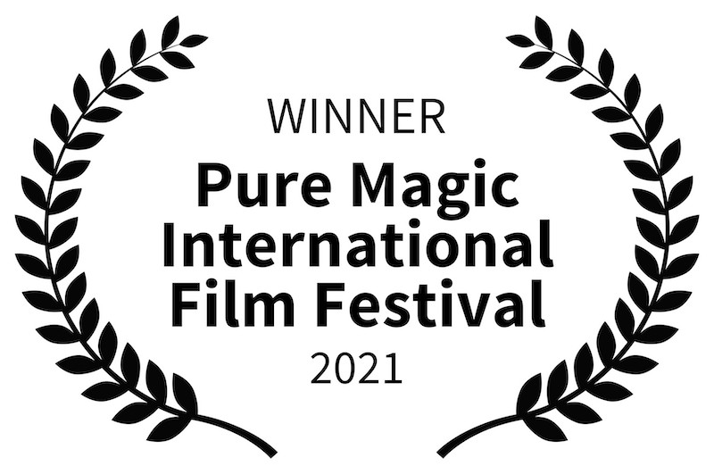 IMPRINT Award Winning Pure Magic International Film Festival laurel