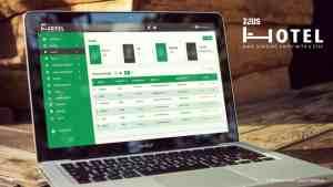 Zeus Hotel CRM Mock up listing