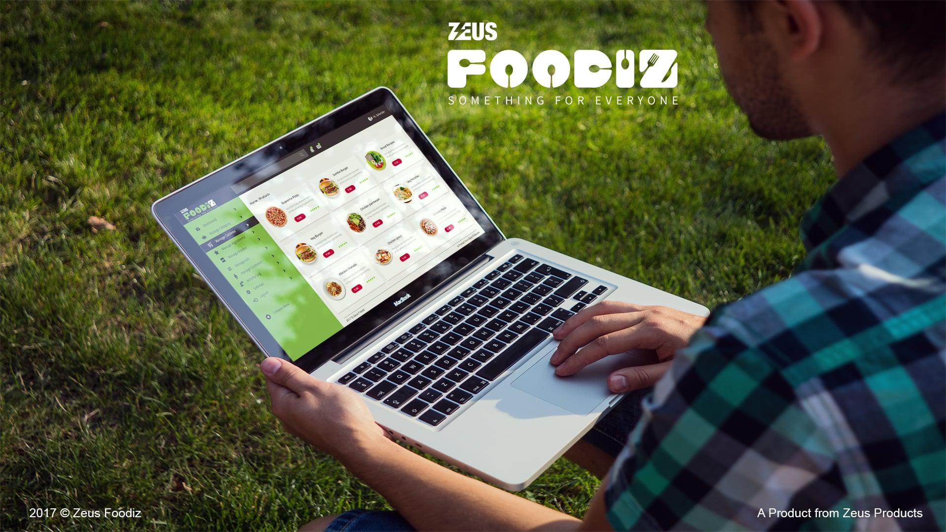 Zeus Foodiz Mockup Listing