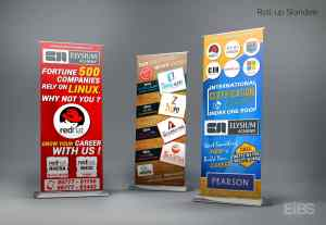 Linux Courses Standees
