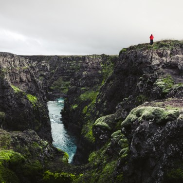 Stykkisholmúr, Island.