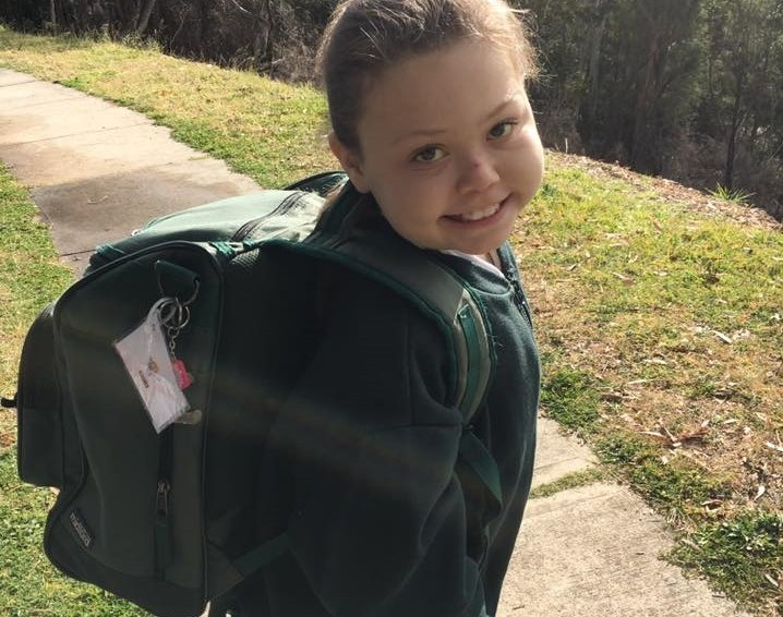 A wish for Emily #5: back in Sydney and  back to school!