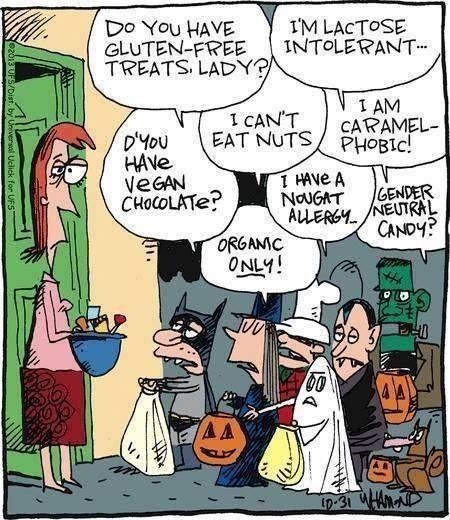 Wordless Wednesday: Halloween reality check!