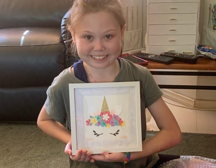 Friday Show and Tell: Emily's Unicorn!