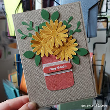 Make it Monday: Daisy Thanks You Cards!