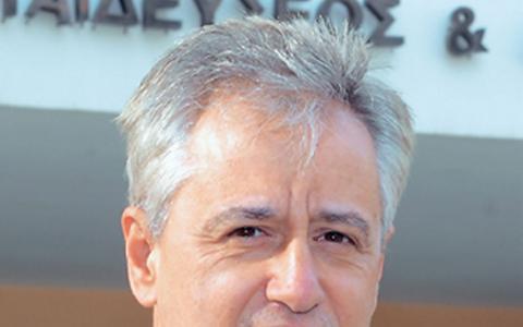 Ο διευθυντής του σχολείου τυφλών Καλλιθέας Φίλιππος Κατσούλης