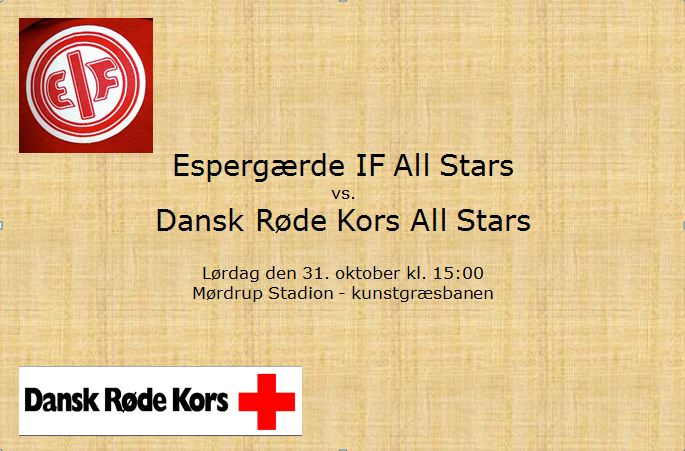Showkamp: EIF All Stars VS Dansk Røde Kors All Stars