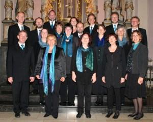 Das Gesualdo-Ensemble präsentiert unter anderem Chor-Motetten von Monteverdi, Brahms, Britten, Purcell, Duruflé, Mauersberger. Bild: Privat
