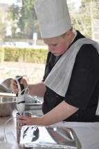 Sarah Carls (CdK Lippstadt) lernte das Kochhandwerk im Hof Huesch in Bad Sassendorf. (Bild: Reiner Züll)