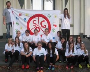 Das Mädchenteam der SG Oleftal sucht neue Mitglieder. Bild: Privat