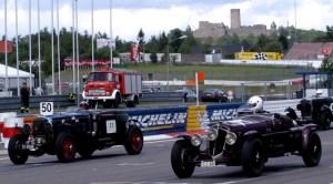 600 Oldtimer werden vom 8. bis 10. August am Nürburgring beim AvD-Oldtimer Grand Prix erwartet. Foto: Reiner Züll