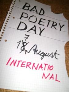 """Einsendungen zum """"Bad Poetry Day"""" sollen im Hellenthaler Kunsthaus """"fLuxus 13"""" veröffentlicht werden. Foto: Helga Lüttgen"""